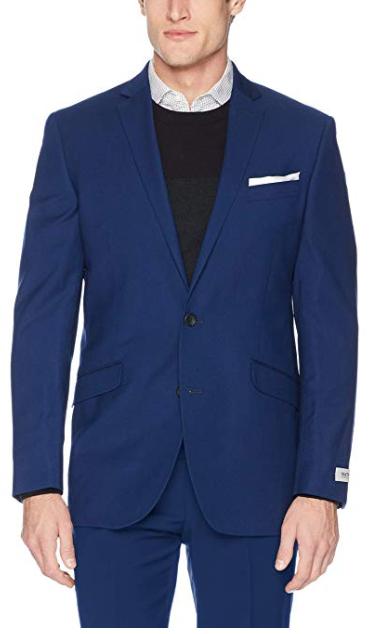 Kenneth Cole REACTION Men's Techni-Cole Stretch Slim Fit Suit Separate $30