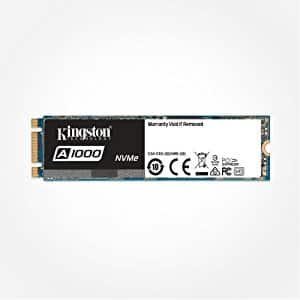 Kingston Digital SA1000M8/480G A1000 480GB PCIe NVMe M.2 2280 Internal SSD High Performance Solid State Drive ($139.99)