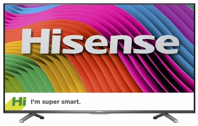 50 inch 4k UHDTV Hisense H6C model $299.99 at bestbuy