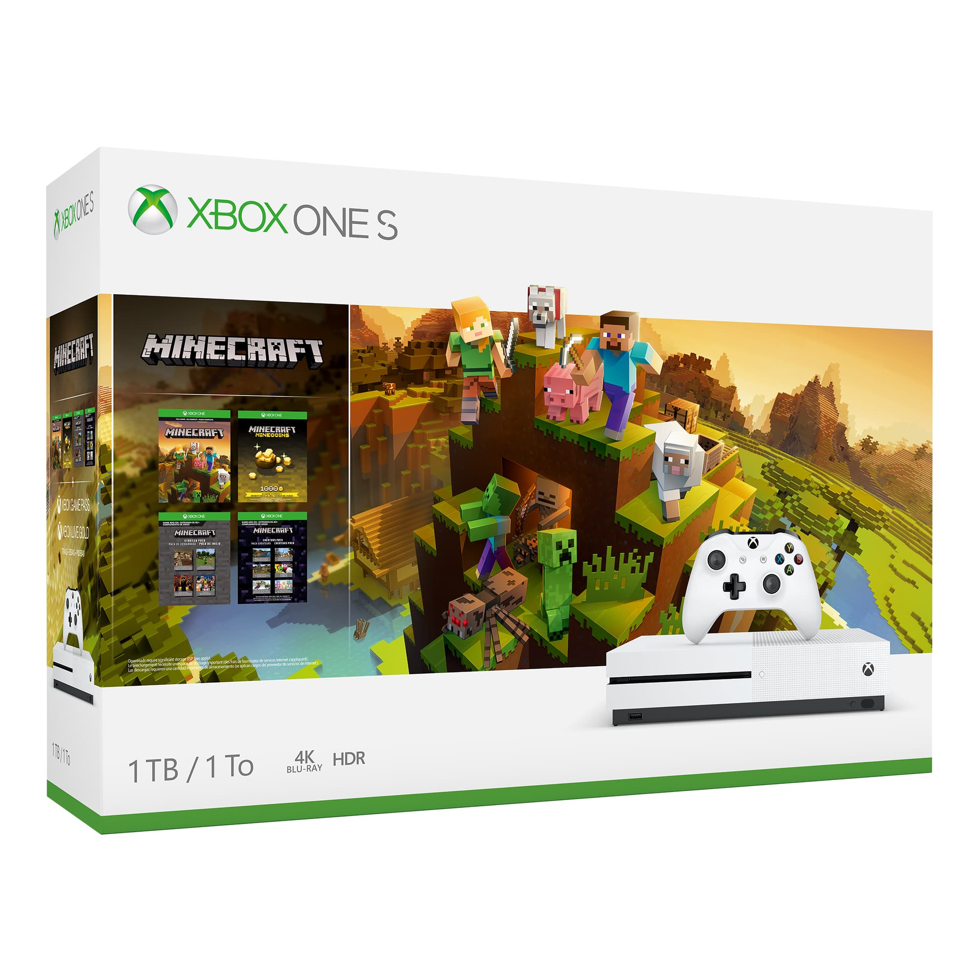 Xbox One S Minecraft Creators Bundle - in store YMMV $120