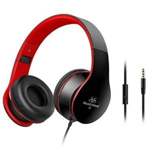 Sound Intone Lightweight Folding Headsets with Build-in Microphone @ $6.99 AC + FS with Prime
