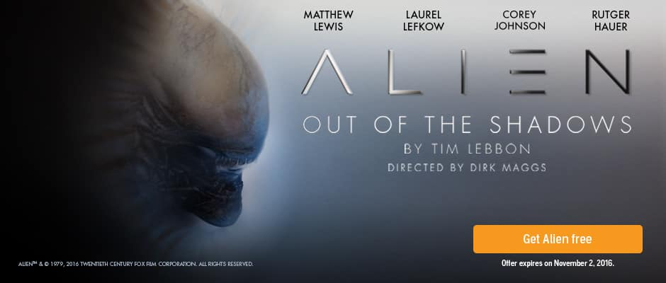 FREE Audible book - Alien Out of the Shadows by Tim Lebbon