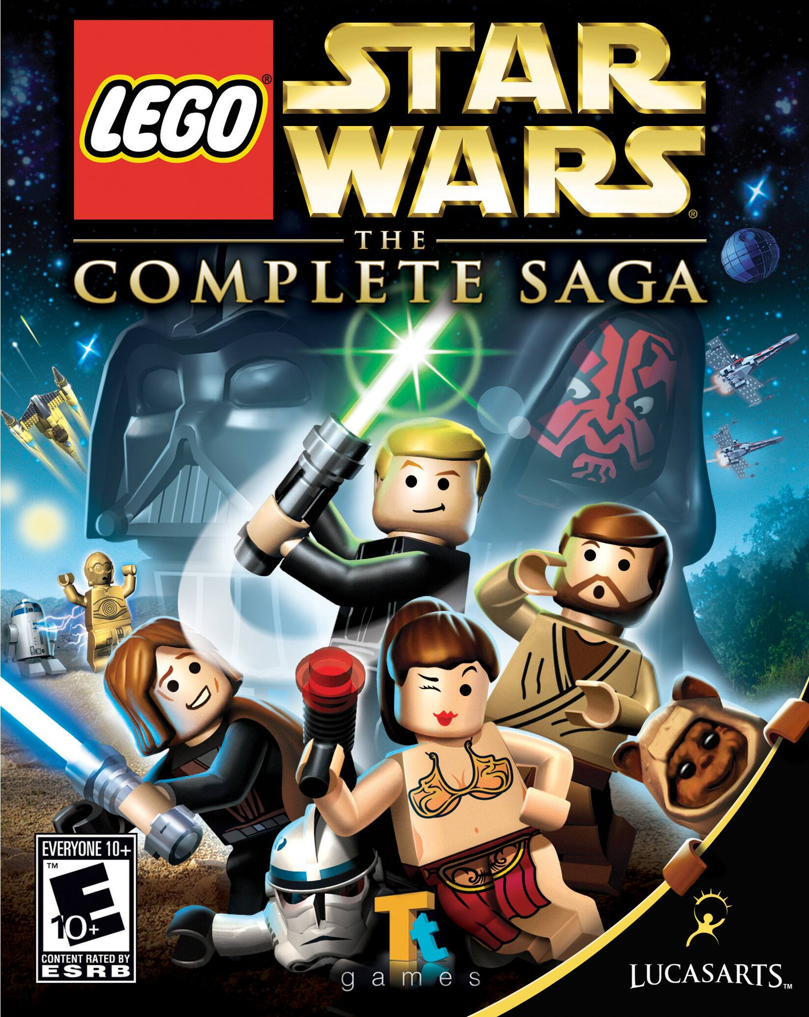 Steam Lego Star Wars Complete Saga $6.79