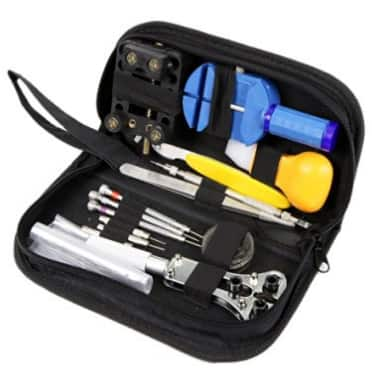 Watch Repair Tool Kit Set, Antimagnetic Screwdriver, Portable Tool Kit, Perfect Kit Watchmaker $9 @ Amazon