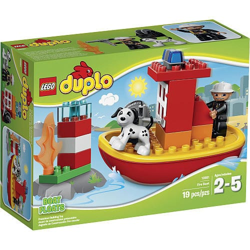 LEGO DUPLO Fire Boat 10591 $9.99. Select store pickup to avoid shipping fee.