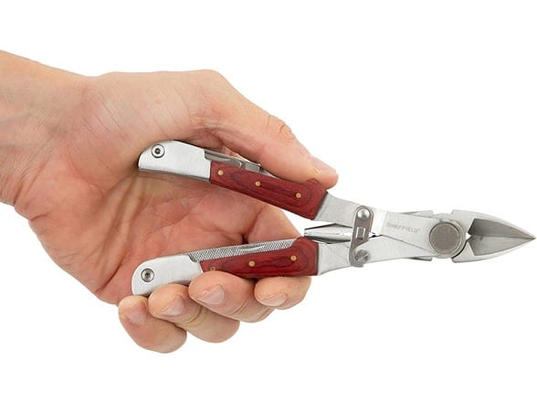 Sheffield 15-In-1 Multi Tool $9 at Woot.com