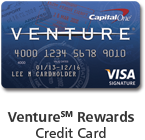 50,000 points with Capital One Venture Card- annual fee waved