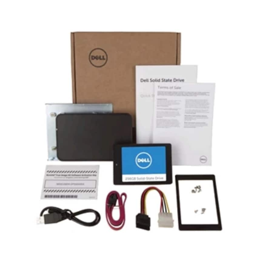 "Dell 256GB 2.5"" SSD Upgrade Kit, $50 Dell GC"