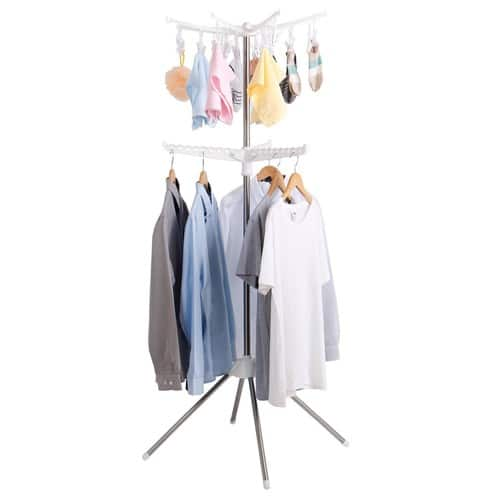 Collapsible Clothes Drying Rack for Hanging Laundry [2 Tier] - $22.49 AC - Free Prime shipping