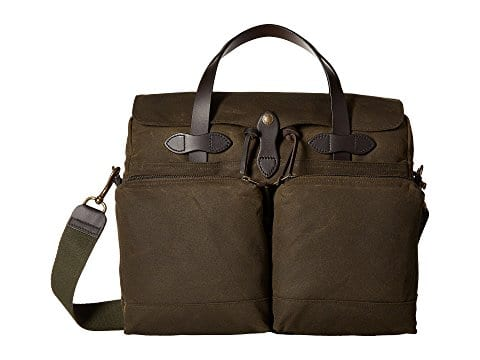 Filson 24hr Tin Cloth Briefcase - Otter Green $276 w/ free Shipping (Zappos)