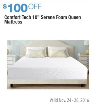 "Costco Wholesale Black Friday fort Tech 10"" Serene"