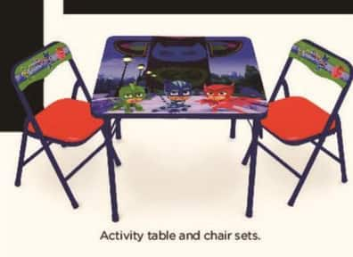 Kohl's Black Friday: Activity Table and Chairs, Select Styles for $24.99