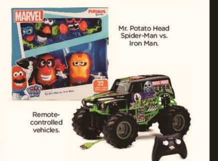 Kohl's Black Friday: Mr. Potato Head Spider-Man Vs. Iron Man for $24.99