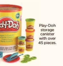 Kohl's Black Friday: Play-Doh Storage Canister w/Over 45 Pieces for $24.99
