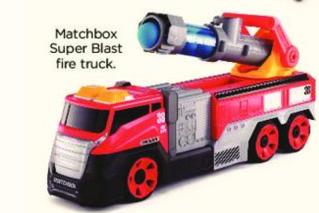 Kohl's Black Friday: Matchbox Super Blast Fire Truck for $24.99