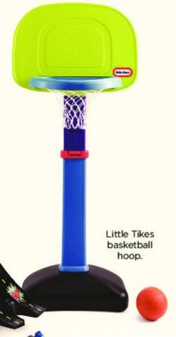 Kohl's Black Friday: Little Tikes Basketball Hoop for $24.99