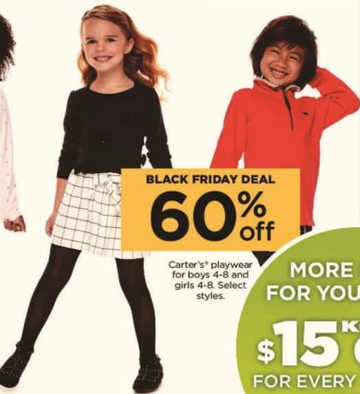 Kohl's Black Friday: Carter's Playwear for Boys and Girls, Select Styles - 60% Off