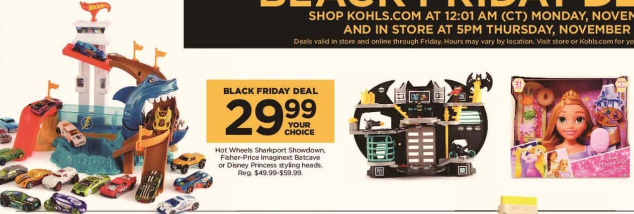 Kohl's Black Friday: Disney Princess Styling Heads for $29.99