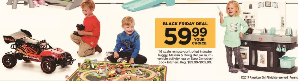 Kohl's Black Friday: Melissa & Doug Deluxe Multi Vehicle Activity Rug for $59.99