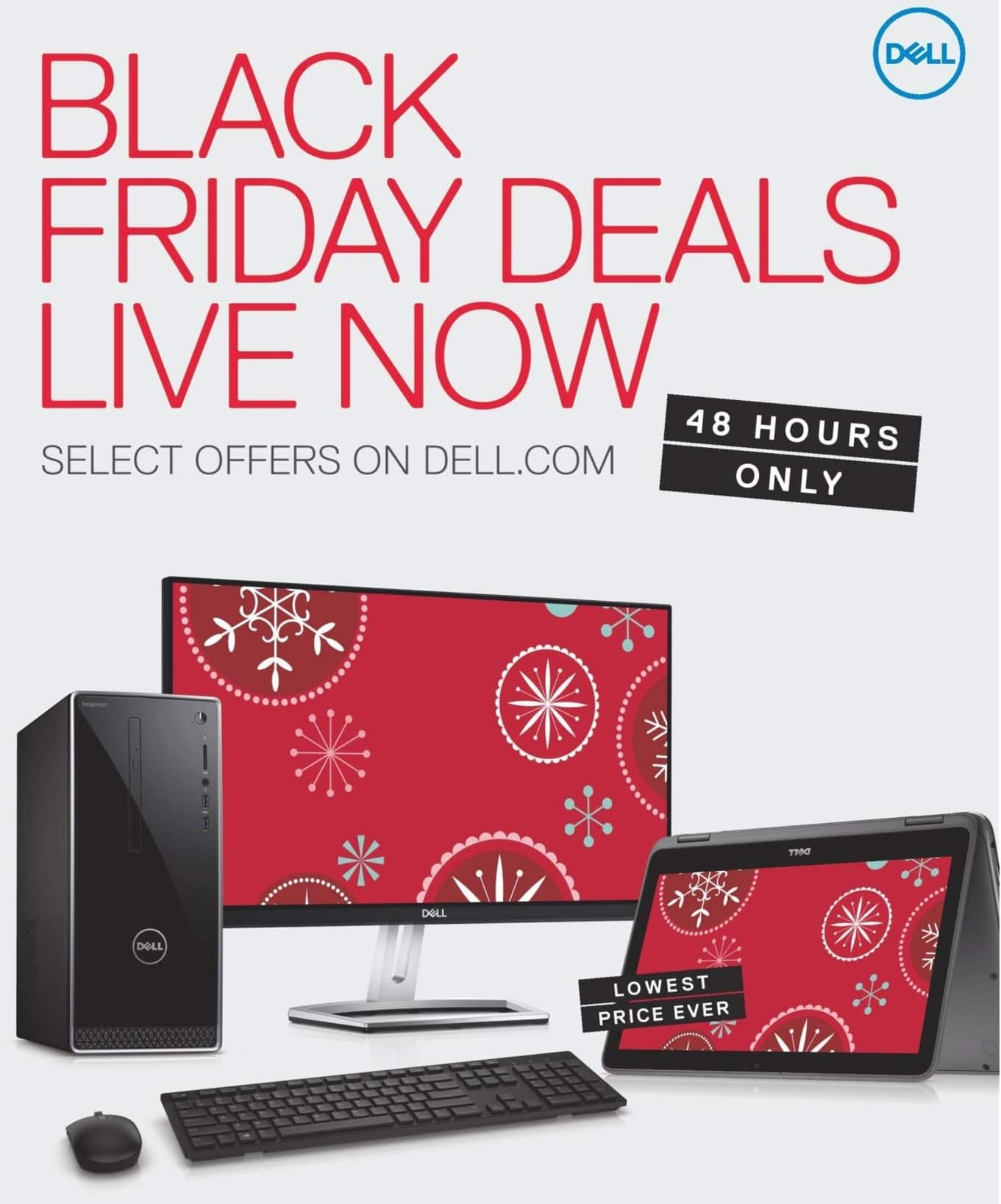 Dell Home & Office Black Friday: Dell Early Access, Select Black Friday Deals - TBA