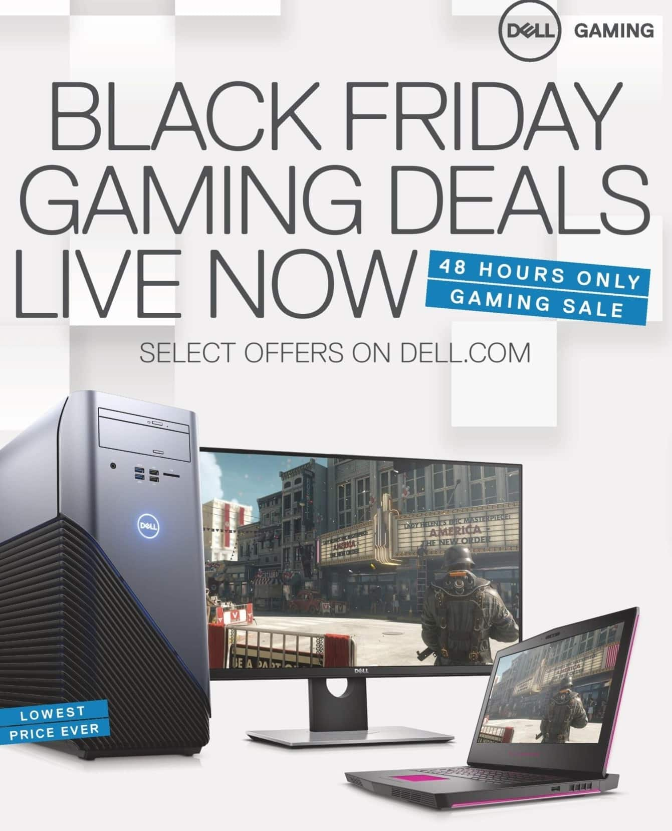 Dell Home & Office Black Friday: Dell Early Access, Select Black Friday Gaming PC and Electronics Deals - TBA