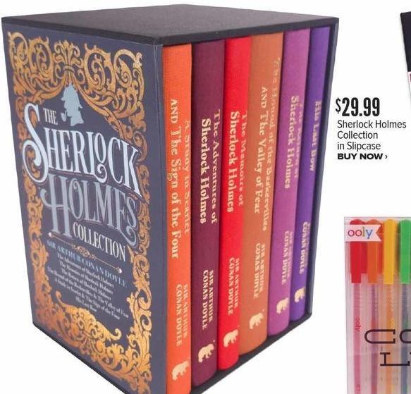 Half Price Books Black Friday: Sherlock Holmes Collection in Slipcase for $29.99