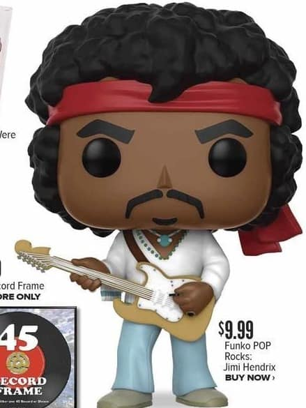 Half Price Books Black Friday: Funko Pop Rocks Jimi Hendrix for $9.99