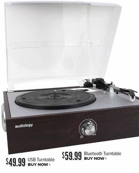Half Price Books Black Friday: Bluetooth Turntable for $59.99