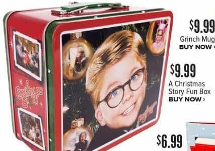 Half Price Books Black Friday: A Christmas Story Fun Box for $9.99