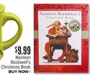 Half Price Books Black Friday: Norman Rockwell's Christmas Book for $9.99