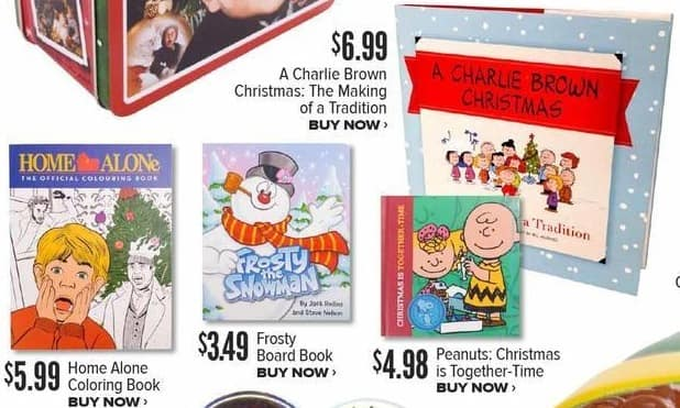 Half Price Books Black Friday: Peanuts Christmas is Together Time for $4.98