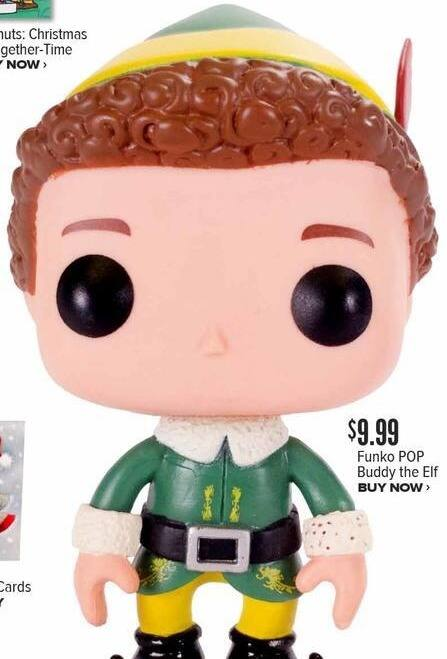 Half Price Books Black Friday: Funko Pop Buddy the Elf for $9.99