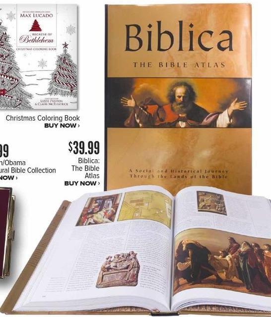 Half Price Books Black Friday: Biblica: The Bible Atlas for $39.99