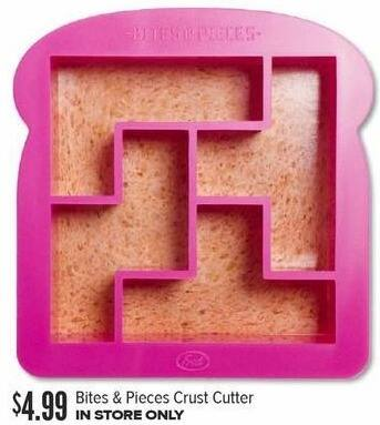 Half Price Books Black Friday: Bites & Pieces Crust Cutter for $4.99
