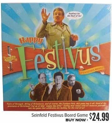 Half Price Books Black Friday: Seinfeld Festivus Board Game for $24.99