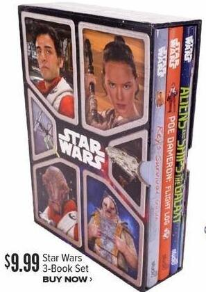 Half Price Books Black Friday: Star Wars 3-Book Set for $9.99