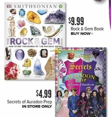 Half Price Books Black Friday: Smithsonian Rock & Gem Book for $9.99