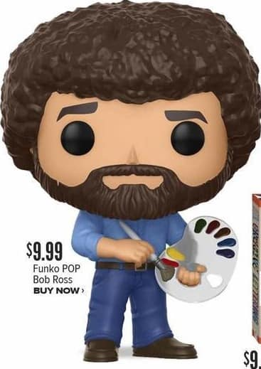 Half Price Books Black Friday: Funko Pop Bob Ross for $9.99