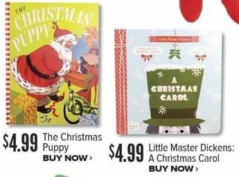 Half Price Books Black Friday: Little Master Dickens: A Christmas Carol for $4.99