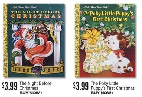 Half Price Books Black Friday: The Poky Little Puppy's First Christmas for $3.99