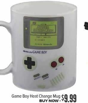 Half Price Books Black Friday: Game Boy Heat Change Mug for $9.99