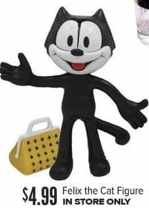 Half Price Books Black Friday: Felix The Cat Figure for $4.99