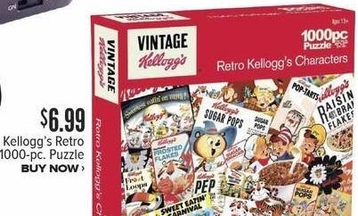 Half Price Books Black Friday: Kellogg's Retro 1000-pc Puzzle for $6.99