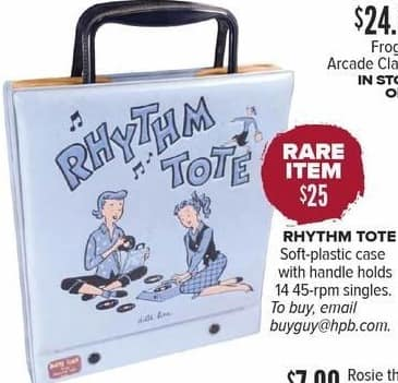 Half Price Books Black Friday: Rare Item: Rhythm Tote for $25.00