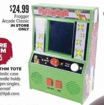 Half Price Books Black Friday: Frogger Arcade Classic for $24.99