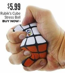 Half Price Books Black Friday: Rubik's Cube Stress Ball for $5.99