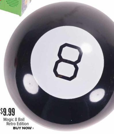 Half Price Books Black Friday: Magic 8 Ball, Retro Edition for $9.99