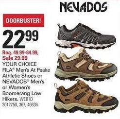 Shopko Black Friday: Fila Men's At Peake Athletic Shoes for $22.99