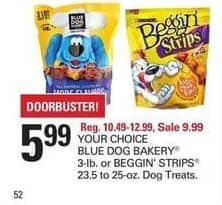 Shopko Black Friday: Blue Dog Bakery 3 lb or Beggin' Strips 23.5 - 25oz Dog Treats for $5.99