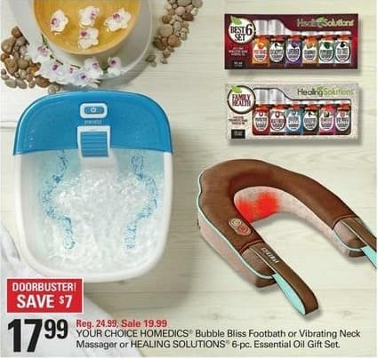 Shopko Black Friday: Homedics Bubble Bliss Footbath for $17.99